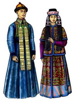 костюмы этнических народностей - Стиль жизни.