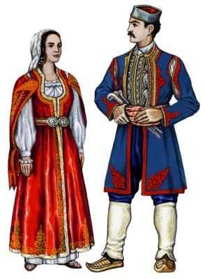 Традиционные костюмы черногорцев