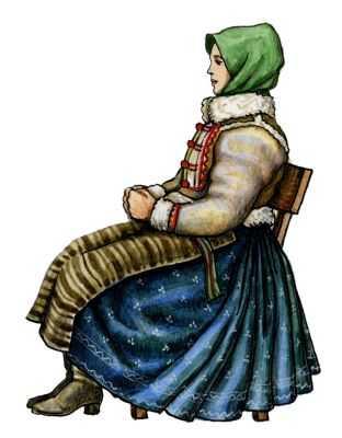 Традиционные костюмы словаков