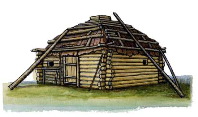 Традиционные жилища ительмен