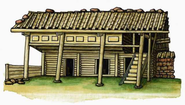 Традиционное жилище провинция