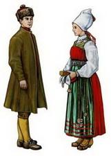 Традиционные и национальные костюмы шведов - Etnolog.ru.